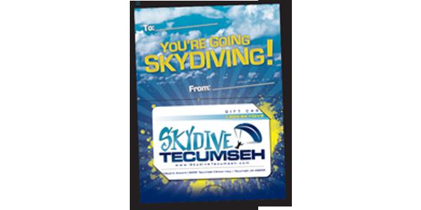 Skydive Tecumseh Gift Certificate