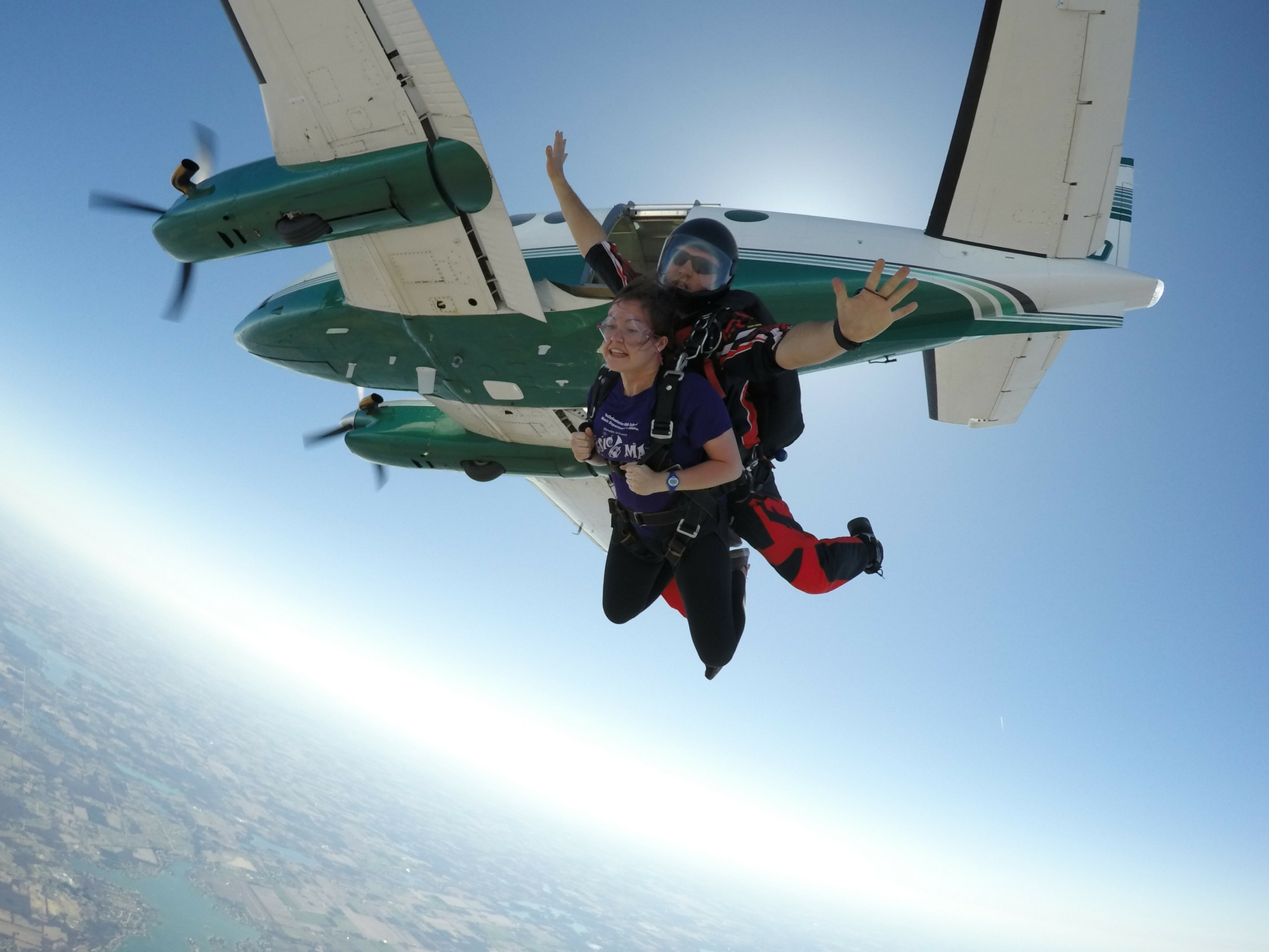 Does Your First Skydive Have To Be A Tandem Skydive Techumseh