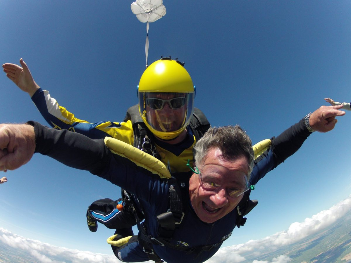 How Old To Skydive? With Age Comes Wisdom