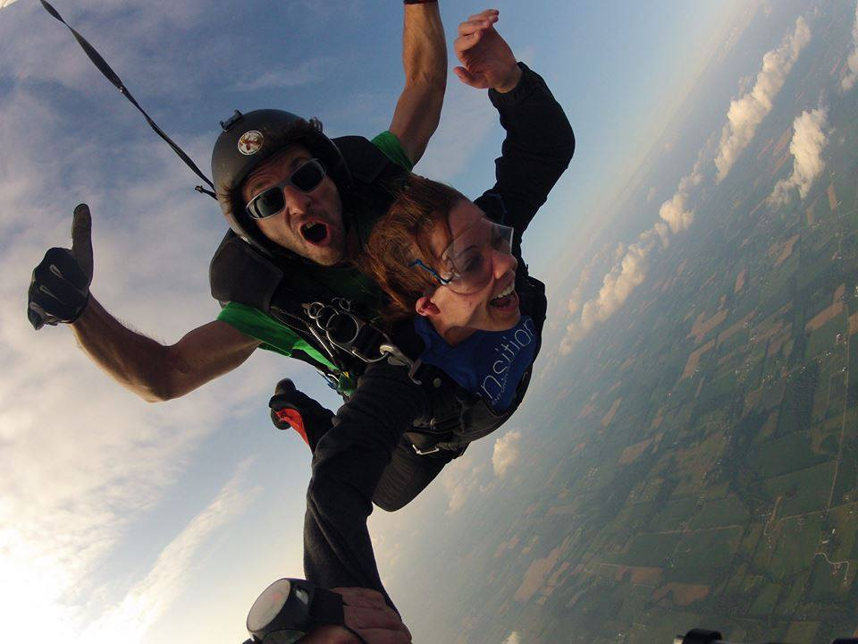 Tandem Skydiving Michigan - $225 First Skydive | Skydive
