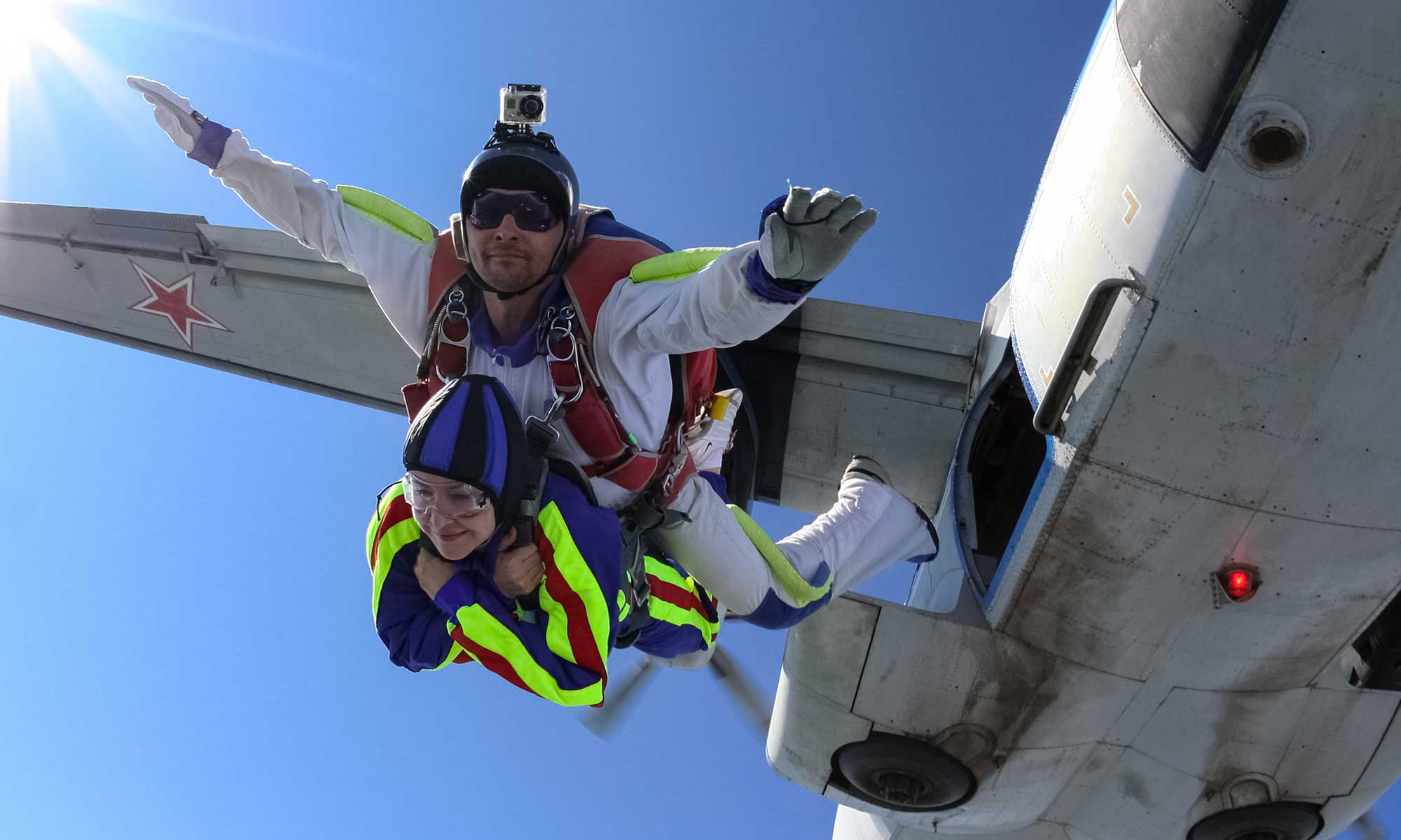 First Tandem Skydive 9000ft