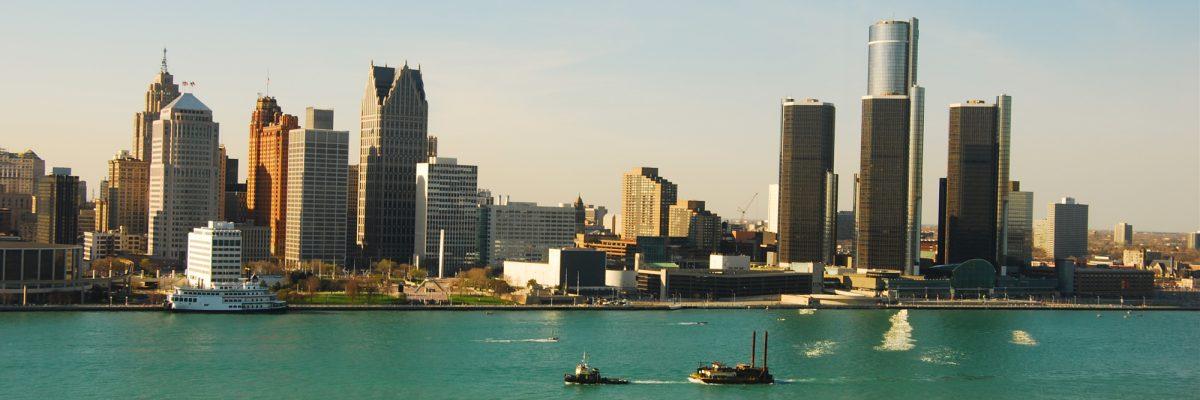 Downtown Detroit, MI