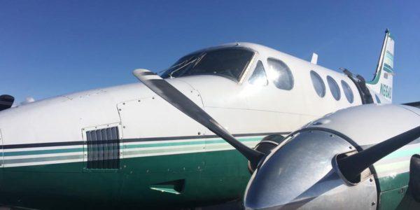 Beechcraft King Air - Skydive Tecumseh Aircraft