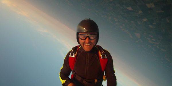 Franz Gerschwiler free falling upside down