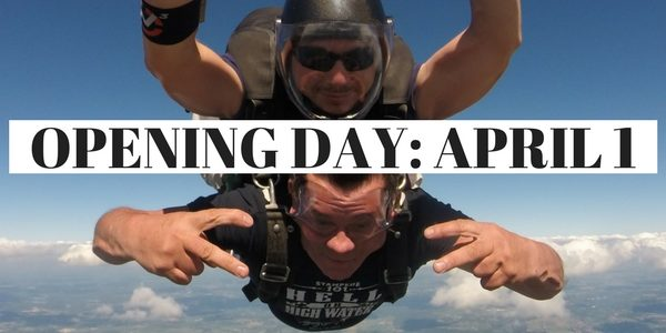Skydive Tecumseh opens April 1, 2017