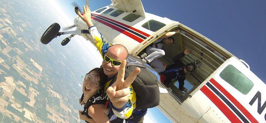 Why are Skydivers Passionate People