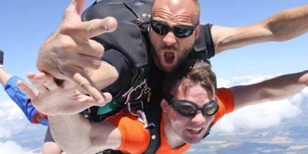 Tandem Skydiving Not What You Expect