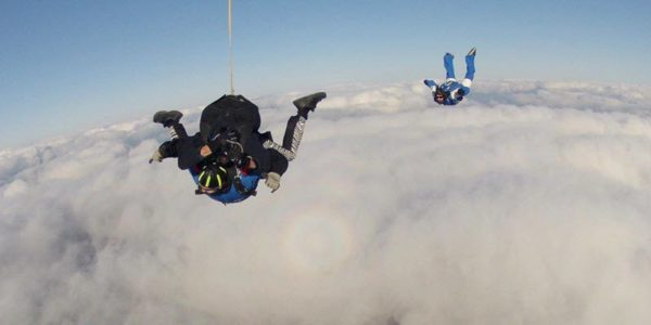 skydiving airplane