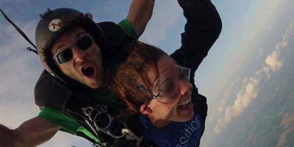 Why skydiving is the perfect escape