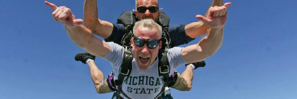 detroit as a skydiving destination