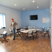Classroom at Skydive Tecumseh