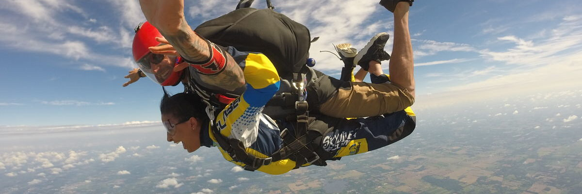 Michigan's Premier Skydiving Center | What Skydiving Feels Like