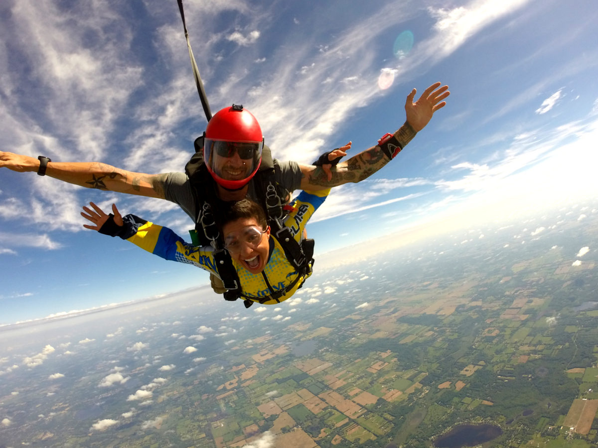 What Skydiving Feels Like | Michigan Skydiving