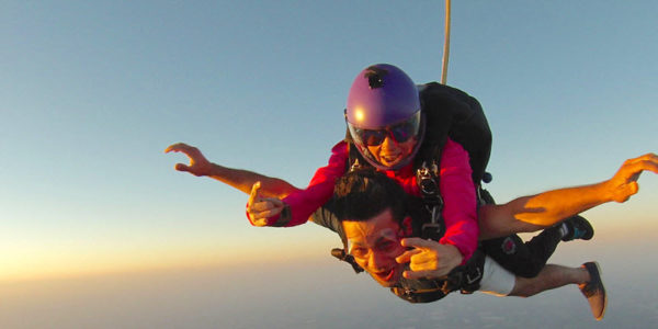 is skydiving like therapy