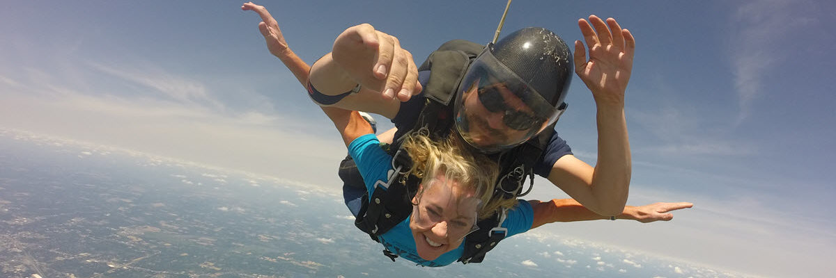 How much does it cost to skydive for the first time?