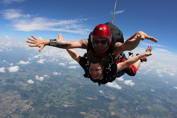 psychology of skydiving