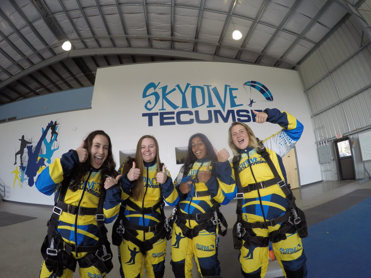 Skydiving Training Tips