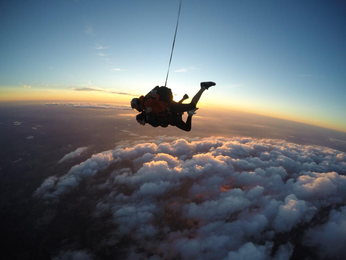 Night Skydiving at Skydive Tecumseh Te
