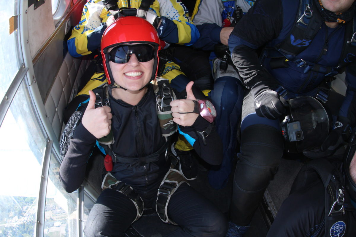 Overcoming Skydiving Anxiety