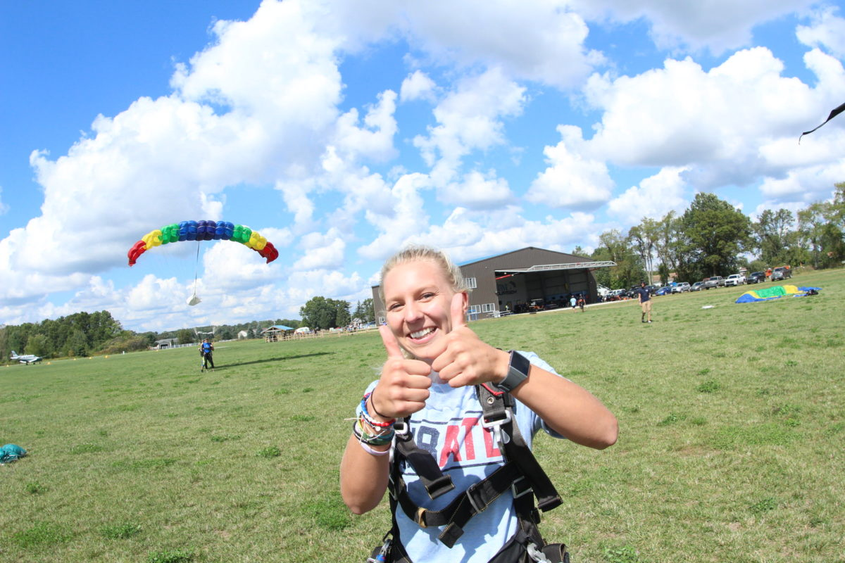 Skydiving Experience at Skydive Tecumseh