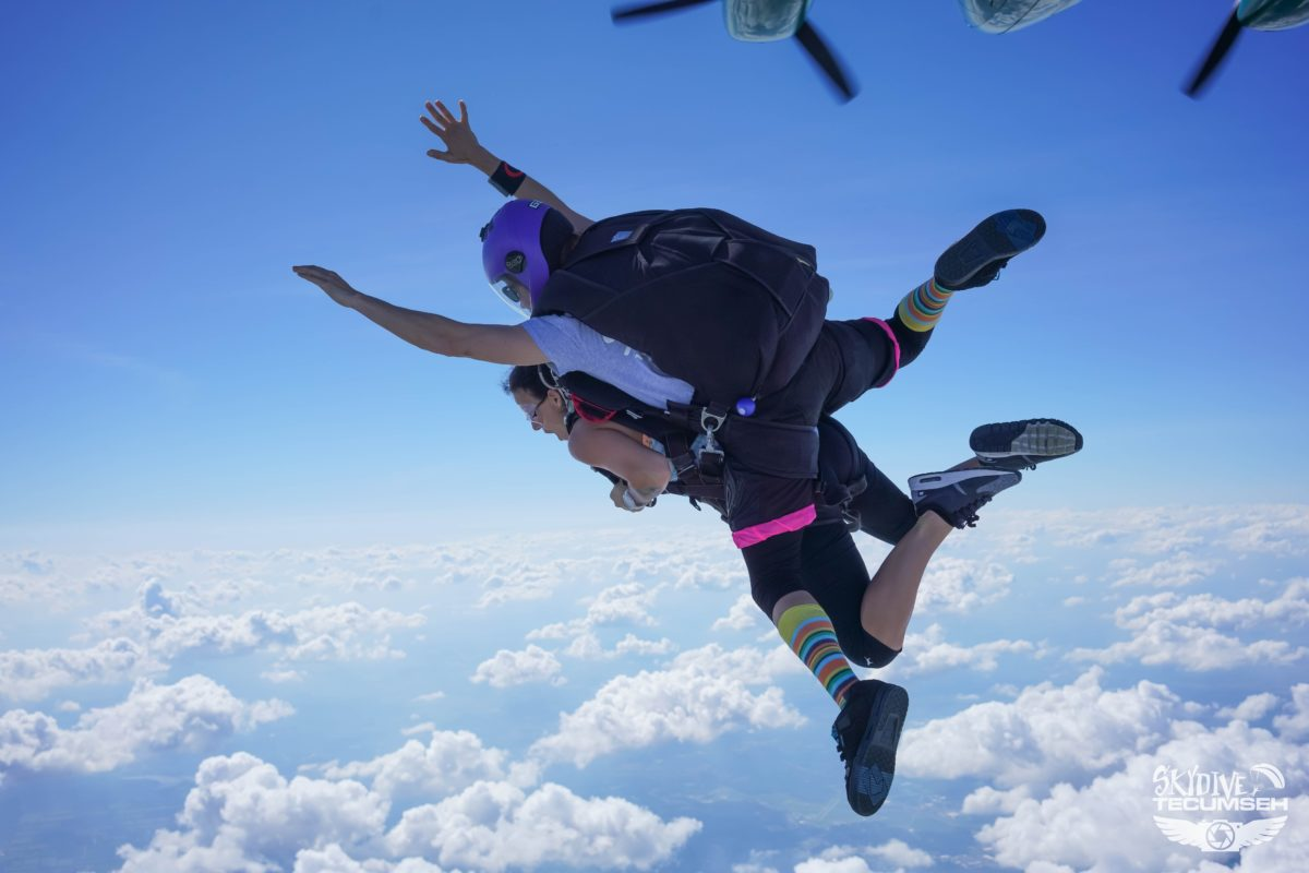 highest skydive in history