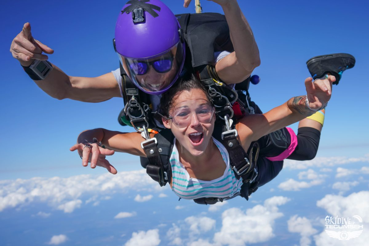 skydiving changes your life