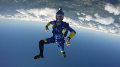 skydiving positions