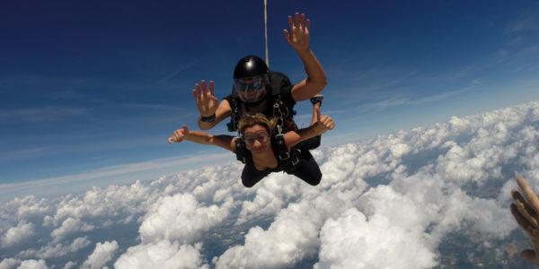 words to describe skydiving