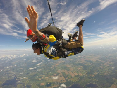 best time to go skydiving