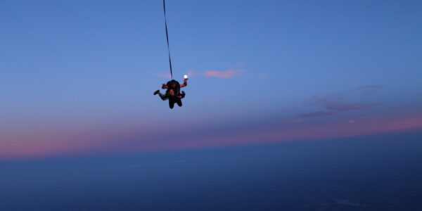 skydiving as therapy