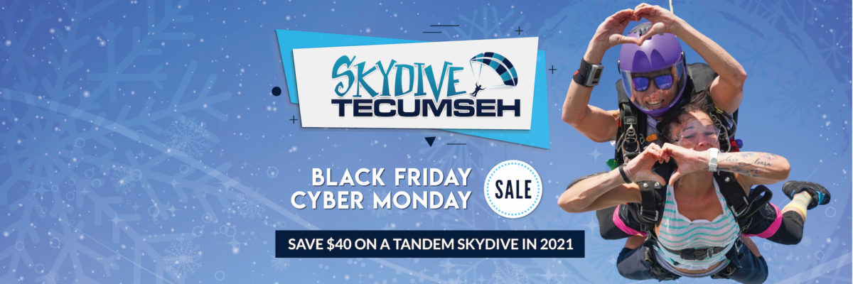 Tandem Skydive Sale